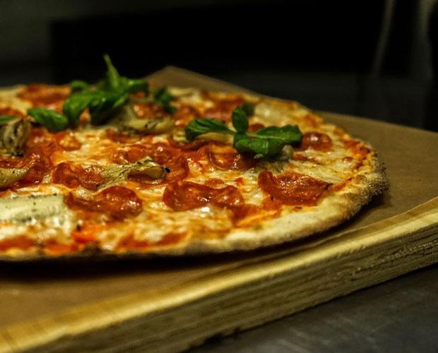 Pizza på Mogwai